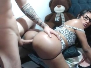Exotic shemale video with Creampie, Big Ass scenes