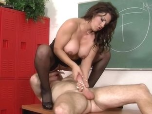 Leena Sky & Levi Cash in My First Sex Teacher