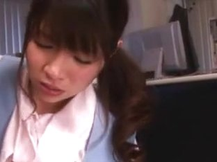 Saki Yuzumoto Asian office girl gets hot sex