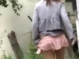 Sexy young Japanese tart loses her skirt during quick sharking odyssey