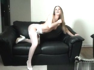 Amazing Amateur record with Brunette, Stockings scenes