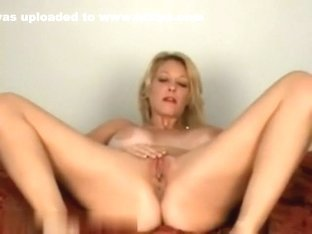 Naughty smoking while playing with her body