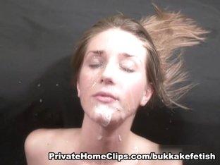 Bukkake with Francheska - Part two