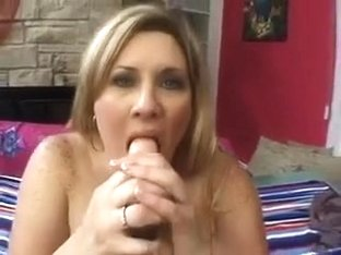 BBW mature girl masturbates for me and gives head