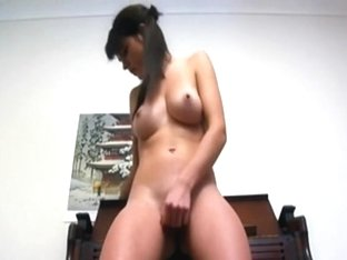 Large tit stripped non-professional GF