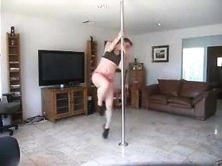 Rhiannan Nichole pole dancing