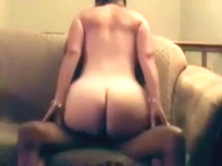 Curvaceous white wife of my friend rides my dark ramrod