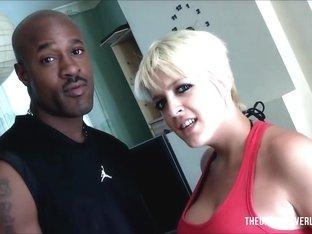Horny pornstar Tilly Hardy in Amazing Big Tits, Interracial sex video